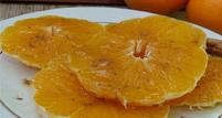 Felii de portocala cu miere si scortisoara